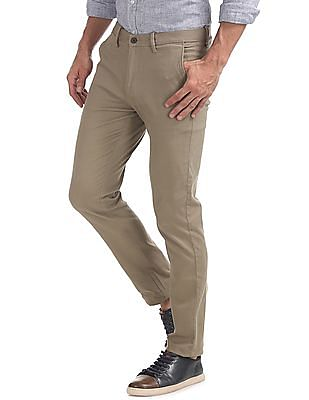 Arrow Sports Slim Fit Autoflex Trousers