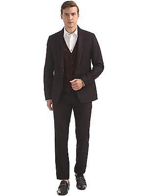 Arvind Single Breasted Three Piece Suit