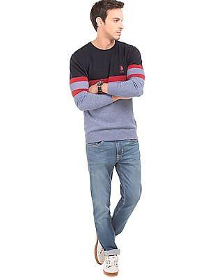 U.S. Polo Assn. Tonal Slim Fit Sweater