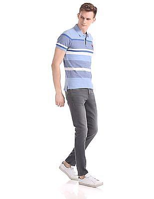 U.S. Polo Assn. Short Sleeve Stripe Polo Shirt