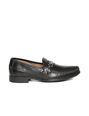 Johnston & Murphy Horsebit Leather Loafers