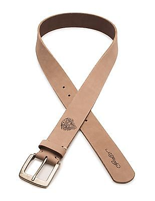 Ed Hardy Suede Leather Belt