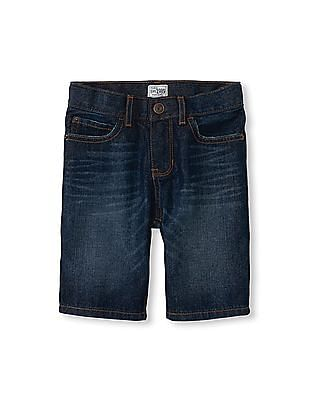 The Children's Place Boys Five-Pocket Denim Shorts