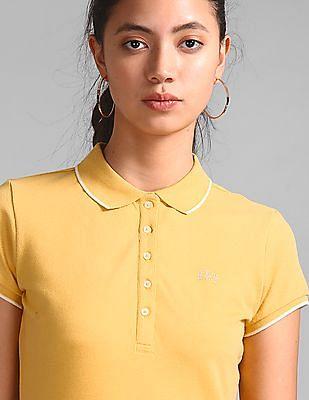 GAP Solid Pique Polo Shirt