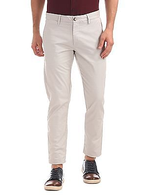 U.S. Polo Assn. Trim Fit Printed Trousers