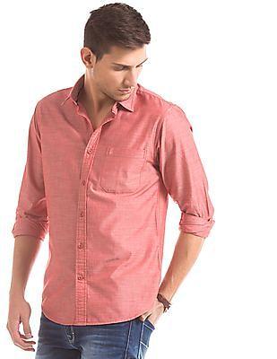 Izod Long Sleeve Slim Fit Shirt