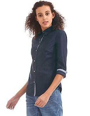 Nautica Long Sleeve Perfect Shirt