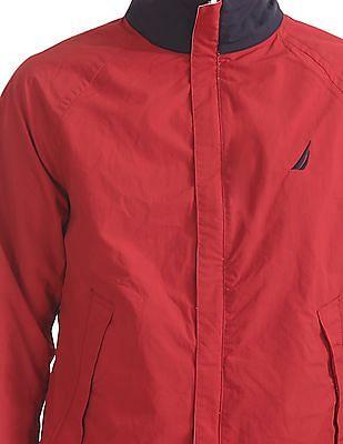 Nautica Classic Fit Colour Blocked Reversible Jacket