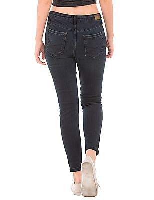 Aeropostale Distressed Skinny Fit Jeans