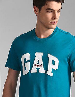 GAP Green Logo Crewneck T-Shirt