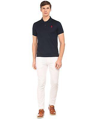 U.S. Polo Assn. Slim Fit Check Polo Shirt
