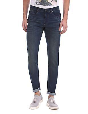 Cherokee Slim Fit Whiskered Jeans