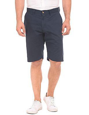 U.S. Polo Assn. Dot Print Slim Fit Shorts