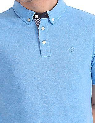 Arrow Newyork Short Sleeve Tipped Polo Shirt