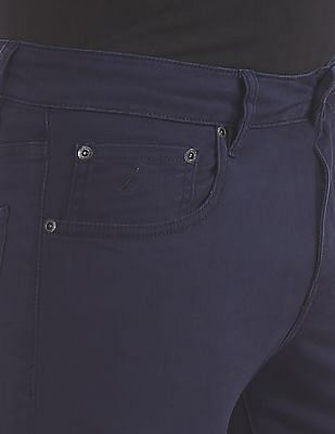 Nautica Slim Fit Solid Trousers