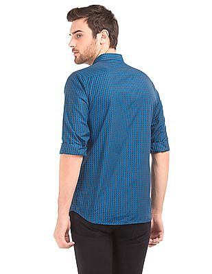 Excalibur Tattersall Check Slim Fit Shirt