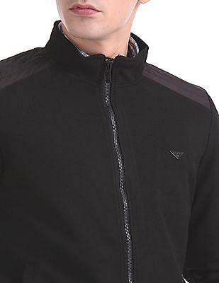 Izod Textured Zip Up Jacket