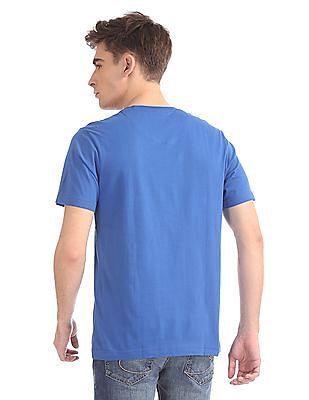 Izod Printed Round Neck T-Shirt