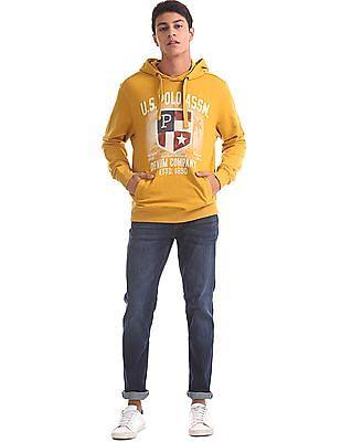 U.S. Polo Assn. Denim Co. Hooded Printed Sweatshirt