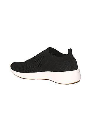 Stride Knitted Upper Slip On Shoes