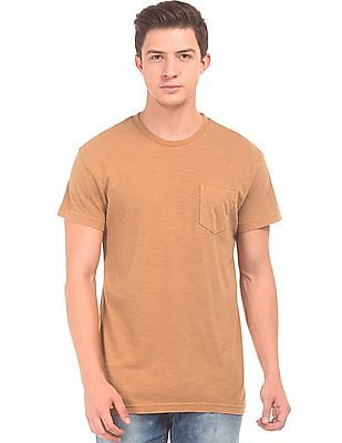 Aeropostale Slubbed Regular Fit T-Shirt