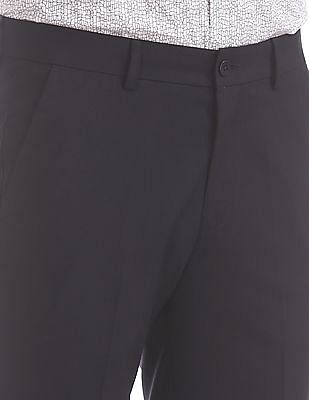 Excalibur Classic Fit Solid Trousers
