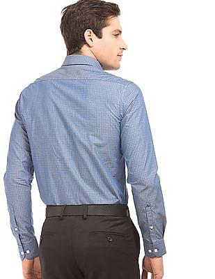 Arrow Dobby Weave French Placket Shirt