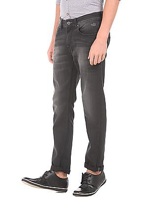 Flying Machine Washed Slim Tapered Fit Jeans