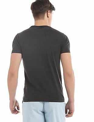 Flying Machine Regular Fit Washed T-Shirt