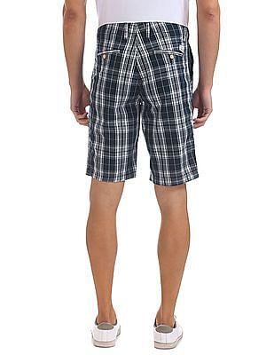 Bayisland Cotton Check Shorts