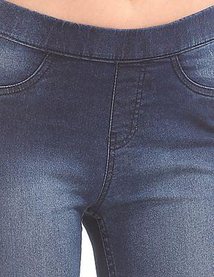 Cherokee Solid Regular Fit Jeggings