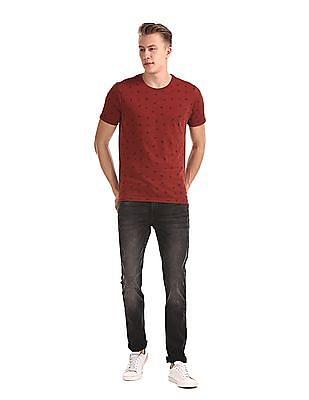 Cherokee Black Distressed Slim Fit Jeans