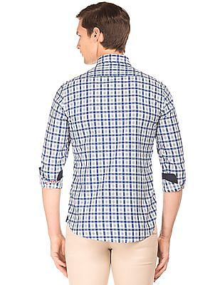 Arrow Sports Slim Fit Check Shirt