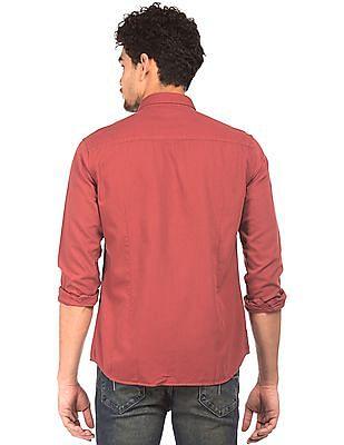 Flying Machine Slim Fit Oxford Shirt