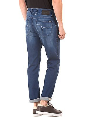 Flying Machine Washed Slim Tapered Jeans