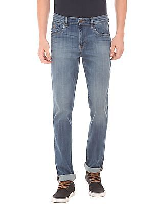 U.S. Polo Assn. Denim Co. Stone Wash Slim Fit Jeans