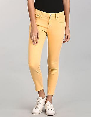GAP Mid Rise True Skinny Ankle Jeans In Colour