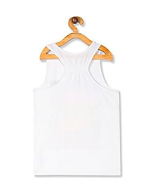 The Children's Place Girls Active Sleeveless Embellished Racer-Back Top