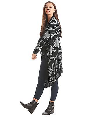 Elle Waterfall Front Longline Shrug