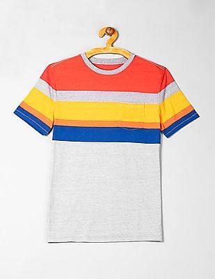 GAP Boys Chest-Stripe Pocket T-Shirt