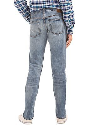 GAP Original 1969 Destructed Vintage Slim Fit Jeans