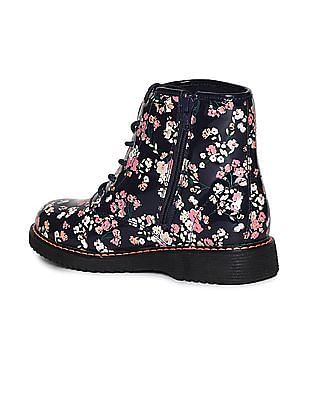 The Children's Place Toddler Girl Multi-Colour Lace-Up Roxi Boot