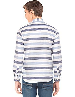 Cherokee Striped Regular Fit Shirt