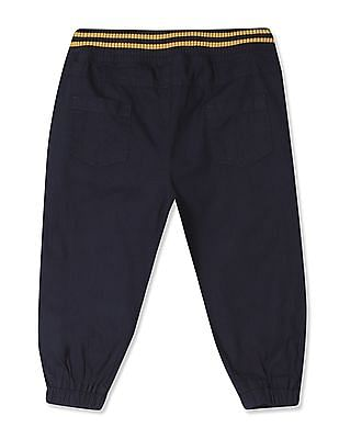 Donuts Boys Solid Jogger Trousers