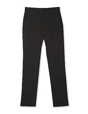 USPA Active Black Equi Dry Solid Trousers