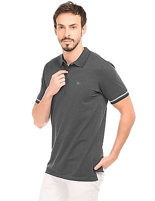 Ruggers Tipped Sleeve Polo Shirt