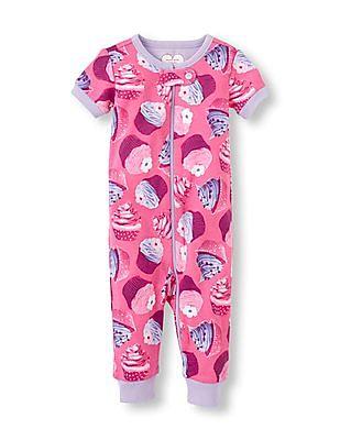 The Children's Place Baby Cupcake Print Bodysuit