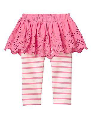 GAP Baby Eyelet Skirt Legging Duo