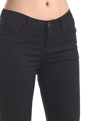 Cherokee Grey Skinny Fit Mid Rise Jeans