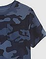 GAP Toddler Boy Print Pocket Short Sleeve T-Shirt
